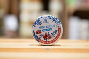 Mini blocs des Vosges - Grenade, aloe vera, cranberry