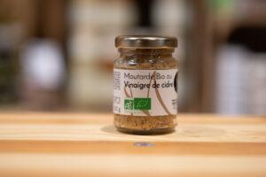 Moutarde bio - Vinaigre de cidre