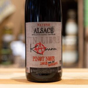 Pinot noir 2018 - Pur jus barrique - Kamm