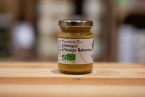 Moutarde bio - Mangue et vinaigre balsamique