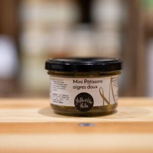 Mini pâtissons - Aigre doux