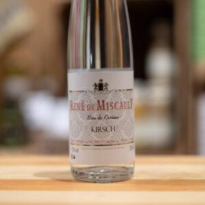 Eau de cerises Kirsch - René de Miscault