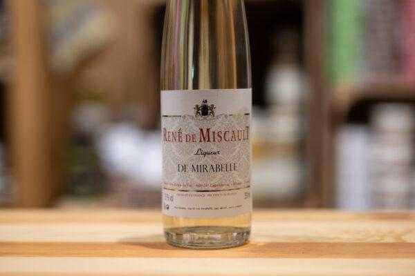 Liqueur de Mirabelle - René de Miscault