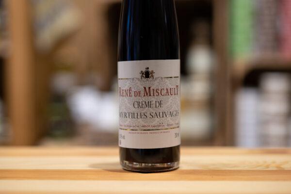 Crème de Myrtilles Sauvages - René de Miscault