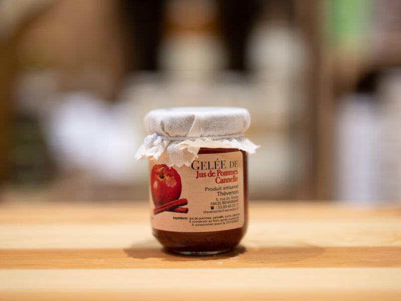 Gelée de jus de pommes et cannelle