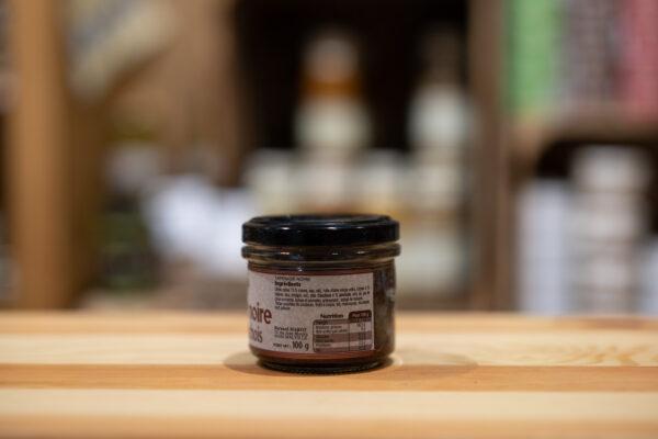 Tapenade noire - Câpres et anchois