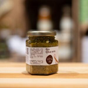 Pâte olive verte