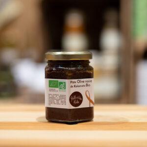 Pâte olive noire de Kalamata - Bio