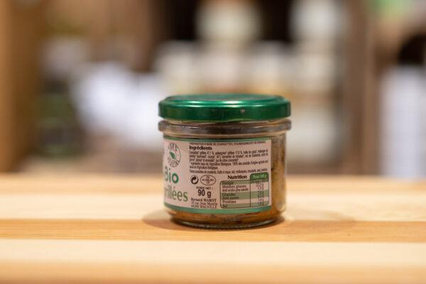 Toastinade courgettes grillées - Bio