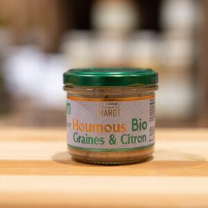 Houmous graines et citron - Bio