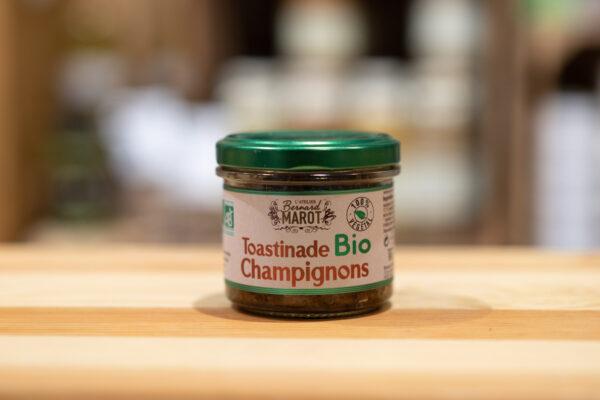 Toastinade champignons - Bio