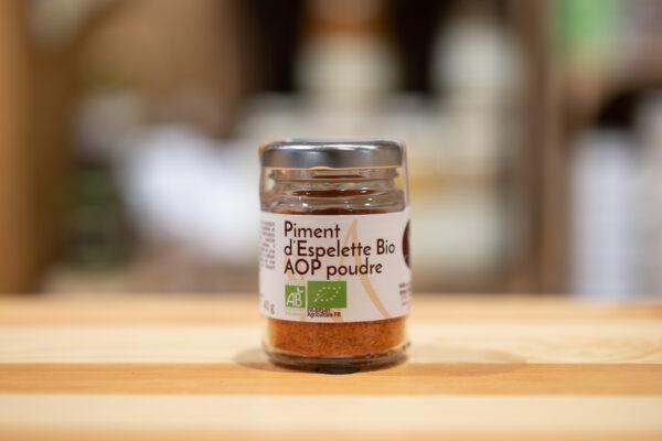 Piment d'Espelette AOP poudre - Bio