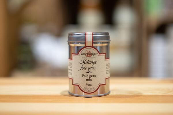 Mélange foie gras