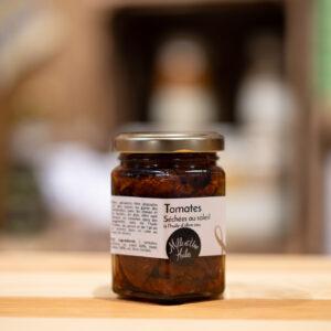 Tomates séchées au soleil à l'huile d'olives