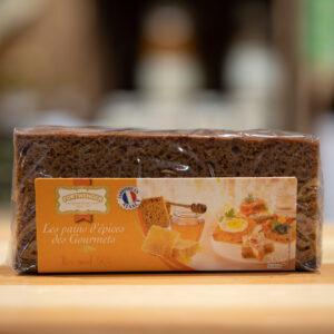 Pain d'épices des Gourmets - Pur miel 50%