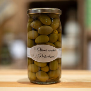 Olives vertes picholines