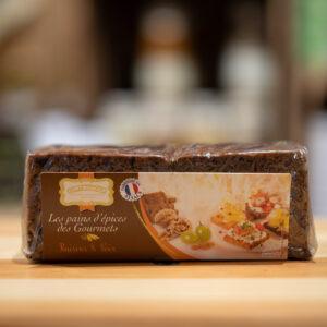 Pain d'épices des Gourmets - Raisins et Noix