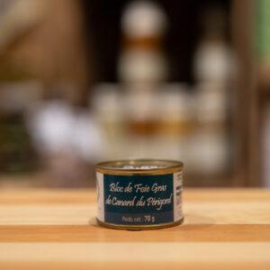Bloc de foie gras de canard du Périgord