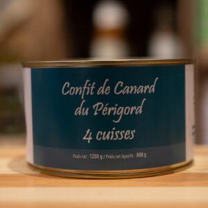 Confit de canard du Périgord 4 cuisses