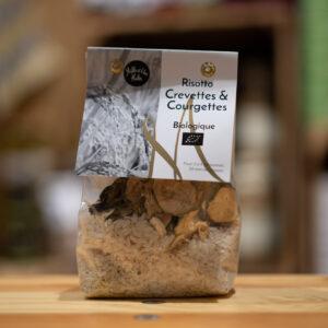 Risotto - Crevettes et courgettes - Bio