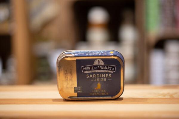 Sardines à l'ancienne - À l'huile d'arachide