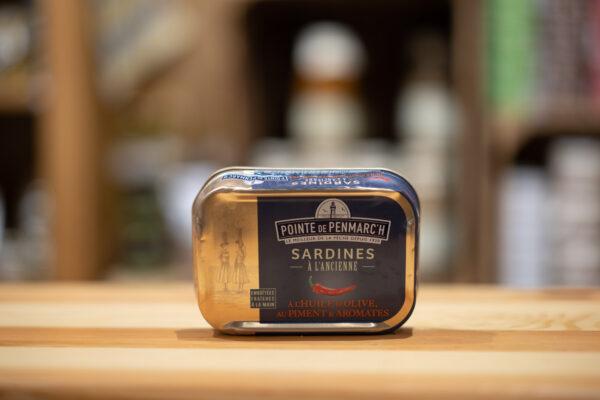 Sardines à l'ancienne - À l'huile d'olive, piment et aromates