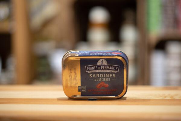 Sardines à l'ancienne - Confiterelles (tomates séchées)
