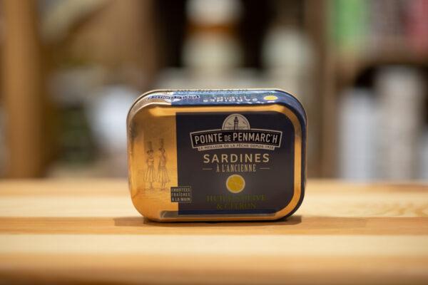 Sardines à l'ancienne - À l'huile d'olive et citron