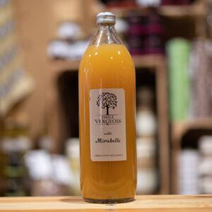 Nectar mirabelle - Fabrication artisanale