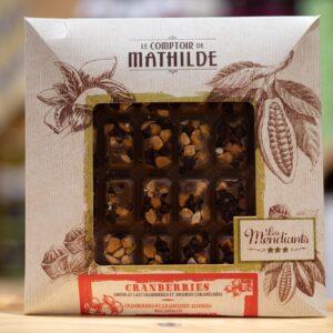 Les Mendiants - Chocolat Cranberries