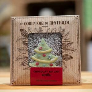 Chocolat au lait - Noël