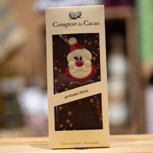 Tablette chocolat - Lait fêtes