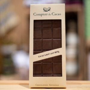 Tablette chocolat - Lait 40%