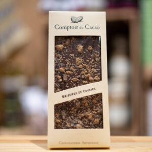 Tablette chocolat - Lait brisures de cookies
