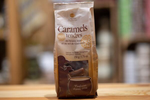 Caramels tendres au beurre frais et au sel de Guérande