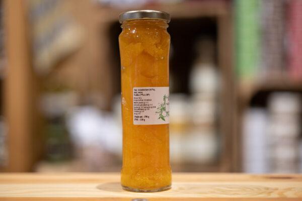 Mandarines rafraîchies à la Vodka