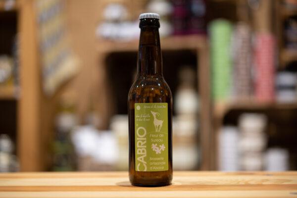 Bière artisanale Cabrio - Fleur de Sureau