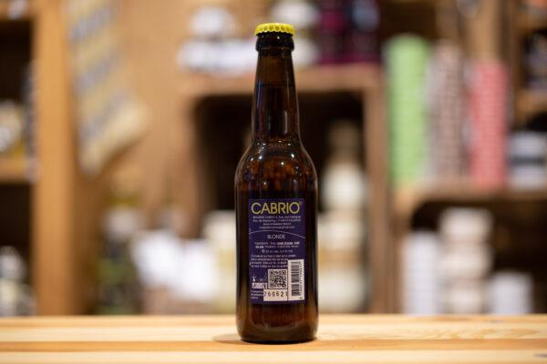 Bière artisanale Cabrio - Blonde