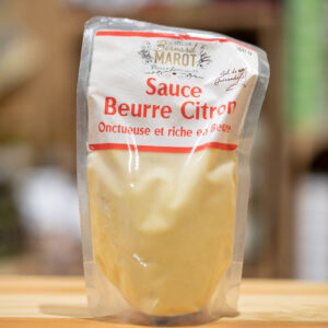 Sauce beurre citron - Onctueuse et riche en beurre