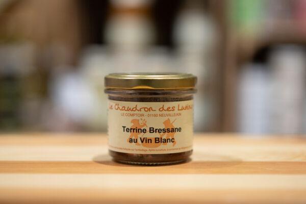 Terrine Bressane au vin blanc - Le Chaudron des Lutins