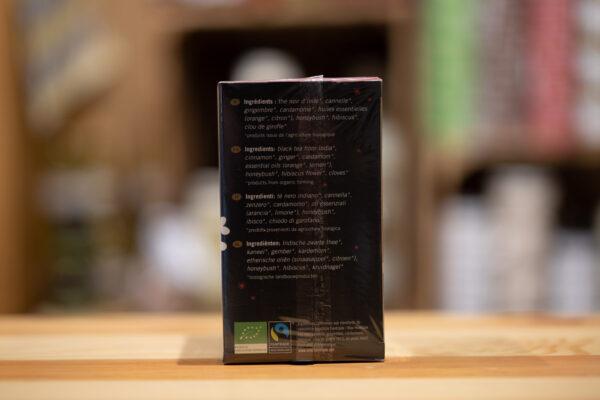 Thé noir bio - Rêves de Noël (sachets)