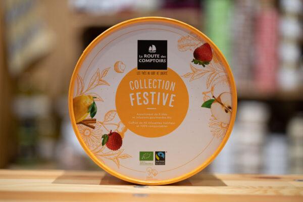 Collection festive - Assortiment bio de thés et tisanes