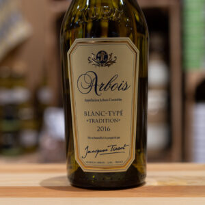 Arbois - Blanc typé tradition 2016 - Jacques Tissot