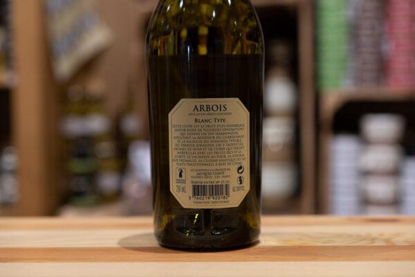 Arbois - Blanc typé tradition 2016 - Jacques Tissot