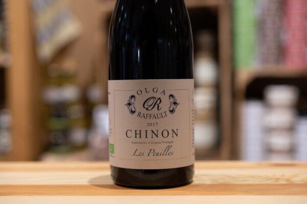 Chinon 2017 - Les Peuilles - Raffault - Bio