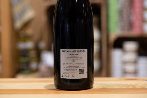 Saint Nicolas de Bourgueil 2017 - La Vinée