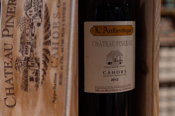 Cahors 2015 - Château Pineraie - L'Authentique (150cl)