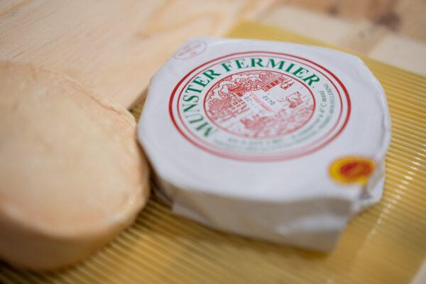 Munster fermier AOP - Ferme Schoeffel d'Alsace - Vache