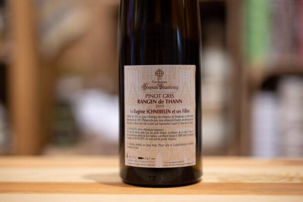 Pinot gris 2019 - Grand cru Rangen - Hospices Strasbourg